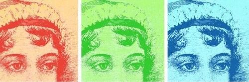 Jane Austen Pop Art Banner