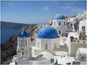 Santorini-Blue